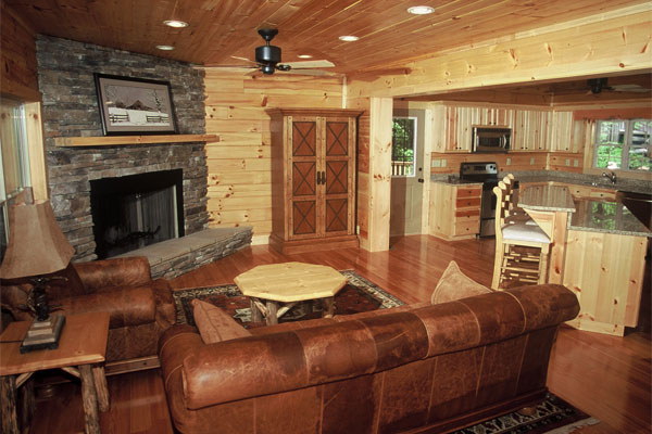 log cabins log homes modular log cabins blue ridge log cabins. Black Bedroom Furniture Sets. Home Design Ideas